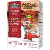 Orgran Gluten Free Outback Animals Chocolate Cookies 175gr
