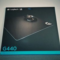 Promo Mousepad Logitech G440 Hard Gaming Mouse Pad