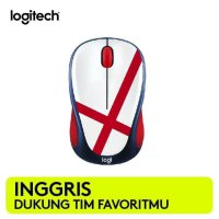 Promo Mouse Wireless Logitech M238 Fan Collection World Cup - England
