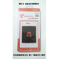 BATTERY BATERAI SMARTFREN ANDROMAX W HB5V1HV HUAWEI ORIGINAL - FREE HOLDER RING