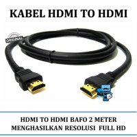 Promo Kabel HDMI to HDMI BAFO 2 Meter High Quality