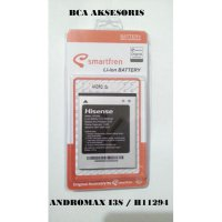 BATTERY BATRE BATERAI SMARTFREN ANDROMAX I3S LI37200L H11294 ORIGINAL - FREE HOLDER RING