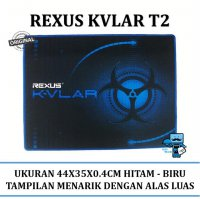 Promo Rexus Gaming MousePad Kvlar T2 440X350X4mm Mousepad Gaming