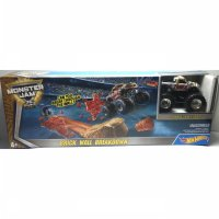 Hotwheels 1/64 Monster Jam with track set