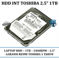 Promo HDD Internal Toshiba 2.5 Inch Sata 1TB Internal Laptop HDD / Harddisk
