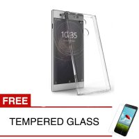 Crystal Case for Sony Xperia XA2 Ultra - 6.0 inch - Clear Hardcase + Gratis Tempered Glass