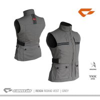 READY Rompi Contin Reign Grey | Rompi Motor Touring | Jaket Harian Pria