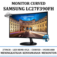 Promo Monitor Samsung Curved LC27F390FH 27F390 27 Inch Monitor LCD LED HDMI