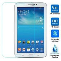 Anti Gores Kaca Tempered Glass Samsung Tab 3V Clear Bening High Quality