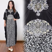SB Collection Dress Maxi Trisha Longdress Kaftan Gamis Jumbo Batik Wanita