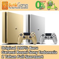 [Gold Product] Sony PS4 Slim Playstation 4 Slim 500GB CUH-2006A Gold & Silver Limited