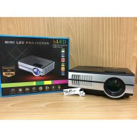 Mini Projector/Proyektor Mini LED Portable EUG 600D Support HD 1080P