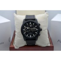 Jam Tangan Alexandre Christie AC 6270 Full Black List White Original