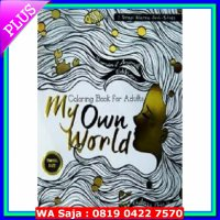 Coloring Book for Adults: My Own World 1 (Travel Size)