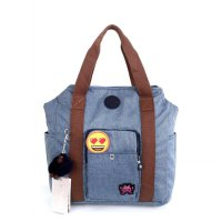 Kipling Original Bennet Leisure Emoji Big - Blue