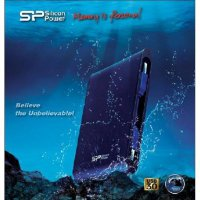 Silicon Power External Harddisk A80 1TB Shock,Pressure,Dust & Water Proof Blue