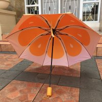 BOBO Korean My Fruit Anti UV Sunscreen Waterproof Folding Umbrella