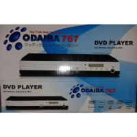 Odaiba DVD Video Player Mini 767 USB Port - Mic Port Karaoke