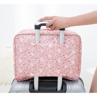 Tas Koper Jinjing Motif Luggage Travel Multi Fungsi 3 Layer Bag