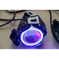 Lampu Tembak LED Cree U7 Angel Eyes +Devil Eyes - LED Motorcycle Headlight