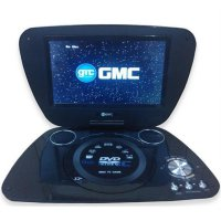 GMC DVD PORTABLE + TV 9' + Radio + Game DIVX-808T - Video Player