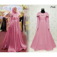 GAMIS MAXI DRESS BAJU MUSLIM PESTA : BW3192 SABRINA
