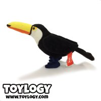 Ozco Boneka Burung Toucan - Bird Stuffed Plush Animal D