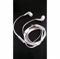 HANDSFREE EARPHONE HEADSET LENOVO WHITE ORIGINAL 100%