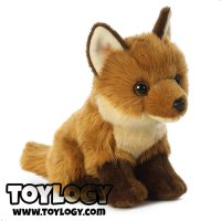 Boneka Hewan Rubah Merah ( Sitting Red Fox Stuffed Plus