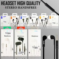 Headset Handsfree High Quality Sony Earphones Super Bass Universal