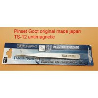 Pinset Goot St-10 Original Japan Anti-Magnetic ( Lurus & Lancip )