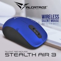 Alcatroz Silent Air Mouse STEALTH AIR 3 Wireless