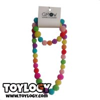 Grow Kalung Anak Mote ( Colorfull Necklace ) with Brace