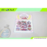 stiker sticker tempelan air bubble water lucu karakter disney cars
