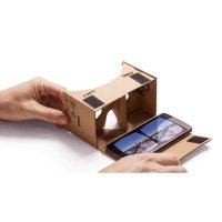 Cardboard Virtual Reality for Smartphone (Google) w/ magnet & lensa