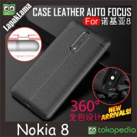 Leather Auto Focus Original Case Nokia 8 Softcase Back Case Nokia 8