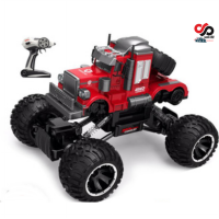 Jual Mobil RC Unique Red Big Truck Off Road 1:14 Racing Drift Car