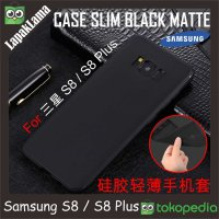 Case Slim Black Matte Samsung Galaxy S8 G950F Softcase Back Matte