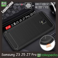 Viseaon Case Samsung Galaxy J5 Pro 2017 / J530 17 Softcase Back Carbon