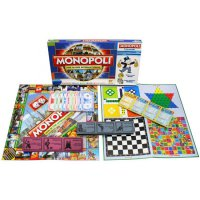 Monopoly International 5 in 1
