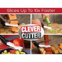 Clever Cutter seen on tv/pisau gunting pemotong serbaguna dapur