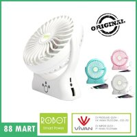 Jual VIVAN Robot Power Bank RT-BF06 2000mAh Portable Kipas A Diskon