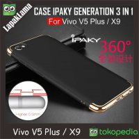 Case iPaky New Generation 3 in 1 Vivo V5 Plus / X9 Hardcase Back Cover