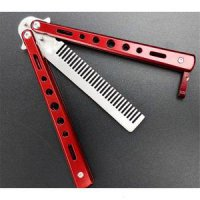 BENCHMADE BALISONG COMB RED / BUTTERFLY COMB MERAH / SISIR POMADE