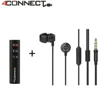 4Connect Bluetooth Audio Receiver+ 4C7 Earphone Packet