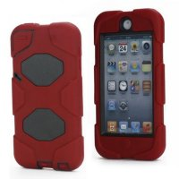 (Ready) TV419 - GRIFFIN SURVIVOR DEFENDER CASE IPOD TOUCH 5 / 6 RED