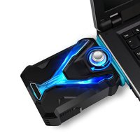 Fan usb Vacum cooler Pendingin laptop Notebook Exhaust Gamer Cooling