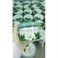 Lulur Wajah BPOM Velrose Secret Nature Organic - GREEN TEA