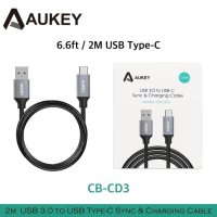 AUKEY Braided USB Type C Cable 3.0 USB A to USB Fast Charge Data QC3.0