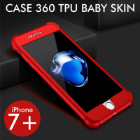 iPhone 7 Plus 7+ Case 360 TPU Baby Skin Softcase Anti Crack Protection
